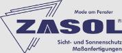 Mode am Fenster - Zasol Lamellenvorhänge - Jalousien - Faltstore -Rollos - Plissee - Bilderschienen - Insektenschutz - Raffrollos.